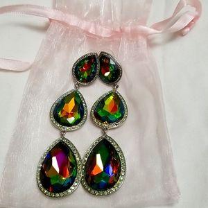 Beautiful teardrop earrings